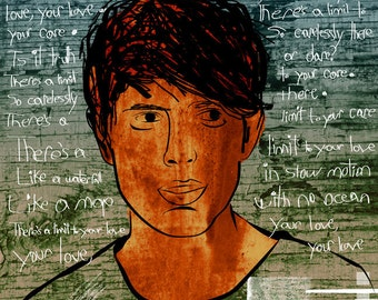 James Blake Poster 11 x 17 Inches