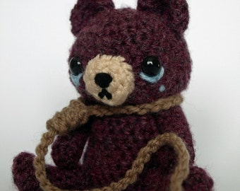Contemplating Amigurumicide - Crochet Pattern