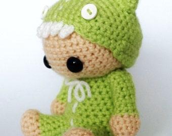 Rawr - Amigurumi Crochet Pattern