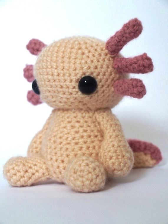 Amigurumi Askina Etsy : Axolotl Amigurumi Crochet Pattern by MrFox on Etsy