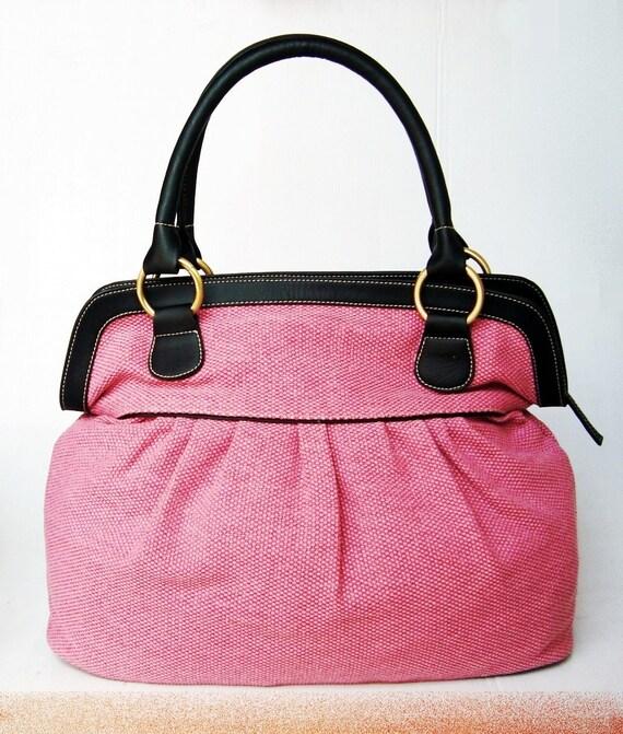 items similar to tote bags pink handbags diaper bag tote bags women handbag travel bag. Black Bedroom Furniture Sets. Home Design Ideas