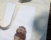 Cheeky Hamster - Long handle bag