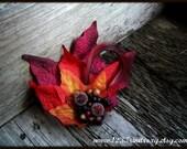 SALE  Gadish- Autumn Fascinator