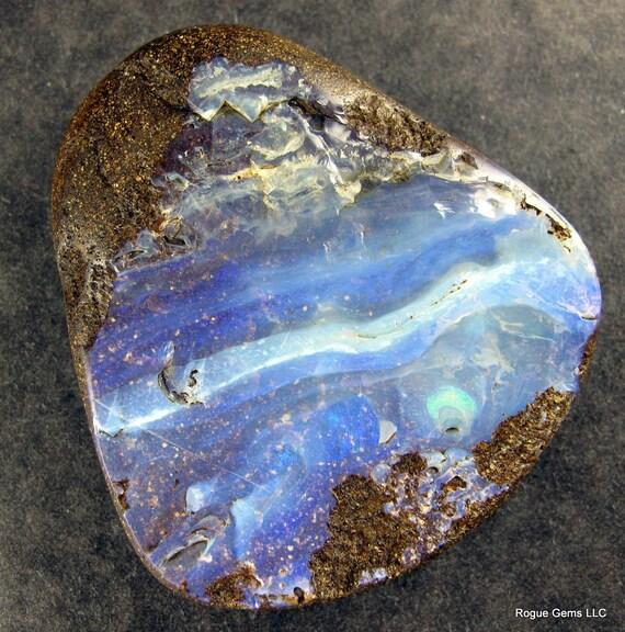Australian Boulder Opal Pendant Focal Bead