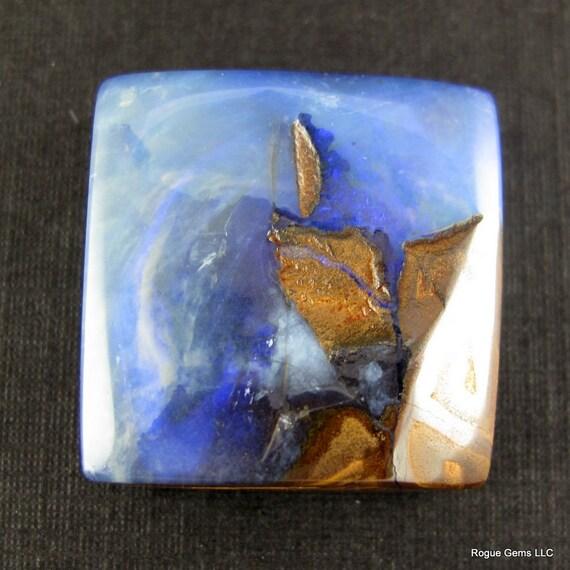 Stunning Australian Boulder Opal Designer Cabochon