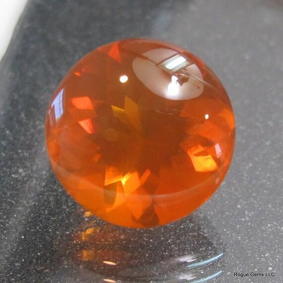 Oregon Fire Opal Buff Top Gemstone