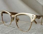 Vintage Aluminum Eyeglass Frames 12K GF