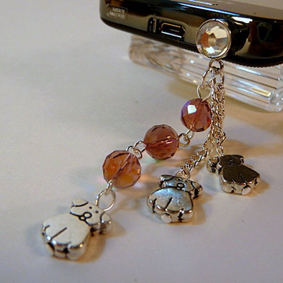 how to make cell phone charms