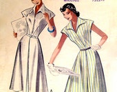 1950s Dress Four Gore Skirt Vintage Sewing Pattern, Butterick 5665, Bust 31""