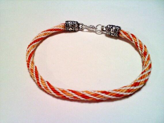 Orange KumiGLOW Bracelet