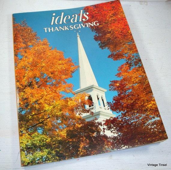 Vintage Ideals Thanksgiving Magazine 1984  (999-11)