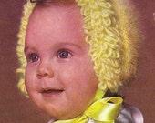 Hazy Baby Bonnet 50s
