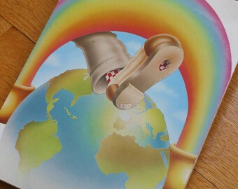 "Genuine 33rpm Upcycled LP Record Cover Drawing Pad Featuring The Grateful Dead ""Live in Europe"""