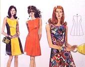 burda pattern 4600 - sleeveless dress - UNCUT
