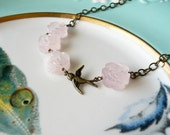 Garden Girl Necklace - Pink