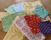Vintage- Darling Fabric Scraps