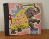 Vintage 1946 Capitol Records Bozo at the Circus Book (no records)