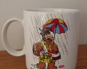 RESERVED for Mary Lee Vintage 1987 Alf Life's a Beach Coffee Mug