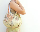 Day and Night - Reversible Bag - Floral and Beige