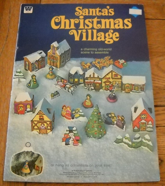 A WHITMAN CHRISTMAS CAROLS SONGBOOK (1969) - SHEET MUSIC BOOK - SCHULTE, EUGENIE