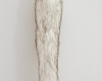 Arctic Fox Faux Fur Tail - Cosplay / Furry / Costume