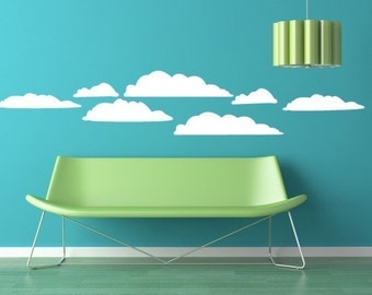 Cloud Kit Vinyl Graphic Wall Decal ORIGINAL Designs by DecoMOD Walls