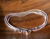 925 silver snake chain\/necklace 1mm 16 inches,