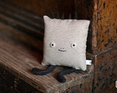 Square Dude in Silvery Gray