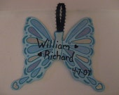 Butterfly Magnet/Ornament -  memorial art, etc. - made to order