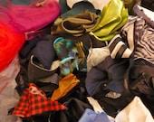 Destash Fabric Scrap Collection 50 or more pieces