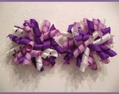 FREE Headband When You Buy Any Three Listings --- Plum Princess Korker Bows
