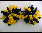 FREE Headband When You Buy Any Three Listings --- Go Blue University of Michigan Korker Bows