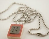 """24"""" Silver Plated Ball Chain for Scrabble tile pendants"""
