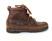 Ralph Lauren Polo Country Leather Outdoors Shoes Womens 8.5