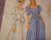 Vintage Simplicity Begotten Renaissance Wedding Party Dress Sewing Pattern 18 20 22