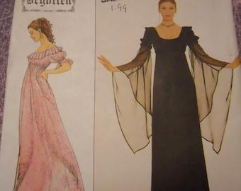 Vintage Simplicity sewing pattern Begotten renaissance larp dress 16 18 20 OOP