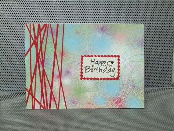 Happy Birthday - home made card