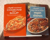 Campbell Cooking with Soup and Main dishes Two cook books