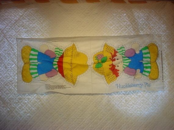 Huckleberry Pie Doll Panel