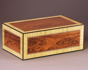 Exousia  (Authority)  Rosewood Jewelry Box