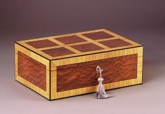Teleios  (Completeness)  Sapele Jewelry Box