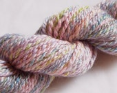 Longing for Spring HANDSPUN - Wool and Bamboo Yarn - 60 yds, Sport Weight