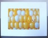Corn-chan Greeting Card