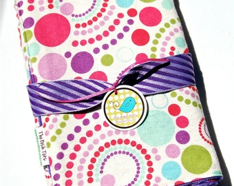 Baby Blanket - Girl Baby Blanket - Toddler Blanket - Light Bright Purple with Your Choice of  Minky