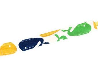 Soothie Pacifier Clip - Whales Zoologie - Gumdrop Nuk Mam Avent