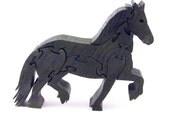 Frisian Horse Wood Puzzle