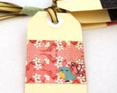 TWEET TWEET - Set of 4 Handmade Gift Tags