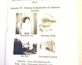 Outta the Way Zine, Volume 19, History and Mysteries of Lebanon County PA