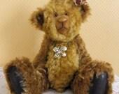"""Cosima 14"""" Jointed Mohair Artist Bear - UK Seller"""