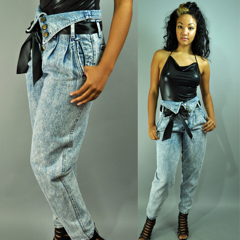 Wish kits high waisted jeans in the 80s online cheap hong